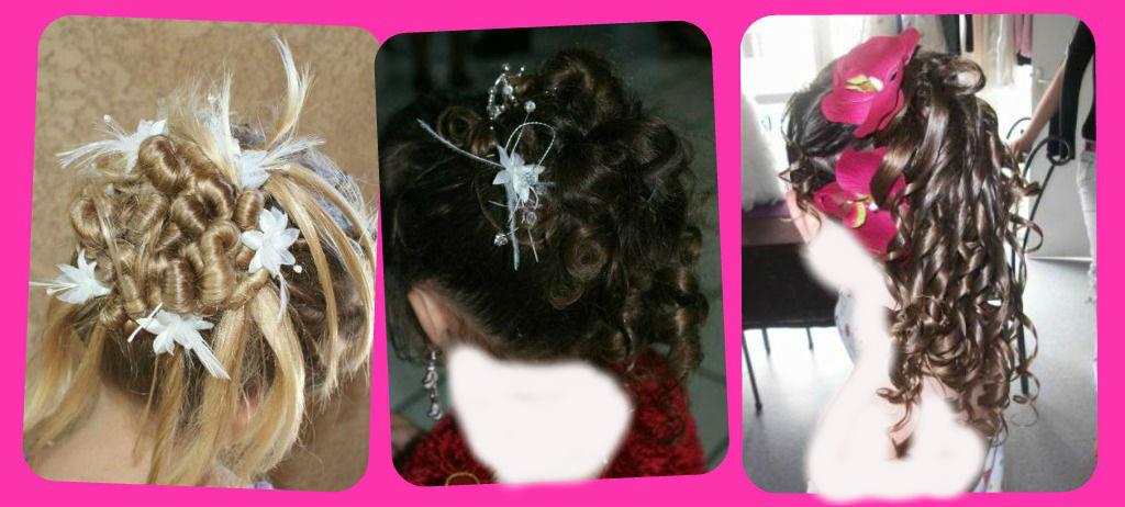 صور تسريحات الشعر القصير للاطفال لل افراح , تسريحة شعر لطفلة لمناسبة