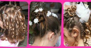 صوره تسريحات الشعر القصير للاطفال لل افراح , تسريحة شعر لطفلة لمناسبة
