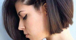 بالصور تسريحات شعر قصير للمناسبات , قصات للشعر الكاريه لحفلات 3530 10 310x165