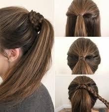 صوره بالصور خطوات عمل تسريحات للشعر , اروع تسريحة شعر للبنات