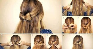 صور طريقة عمل تسريحات للشعر القصير للمناسبات , فيديو لتسريحة شعر قصير