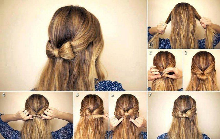 صوره طريقة عمل تسريحات للشعر القصير للمناسبات , فيديو لتسريحة شعر قصير