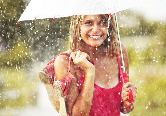 بالصور صور بنات تحت المطر , خلفيات للفتيات يمرحون تحت الشتا 3783 4