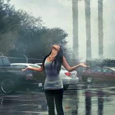 صوره صور بنات تحت المطر , خلفيات للفتيات يمرحون تحت الشتا