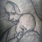 صور احدث اللوحات الفنيه عن الام صور جديدة عن الامومه رسومات فنيه حديثه عن الام , بوستات عن فضل ست الحبايب