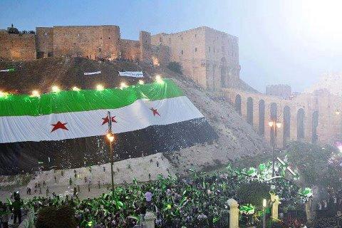 بالصور صور علم الثورة السورية , بوستات لرمز الانتفاضة 4077 1