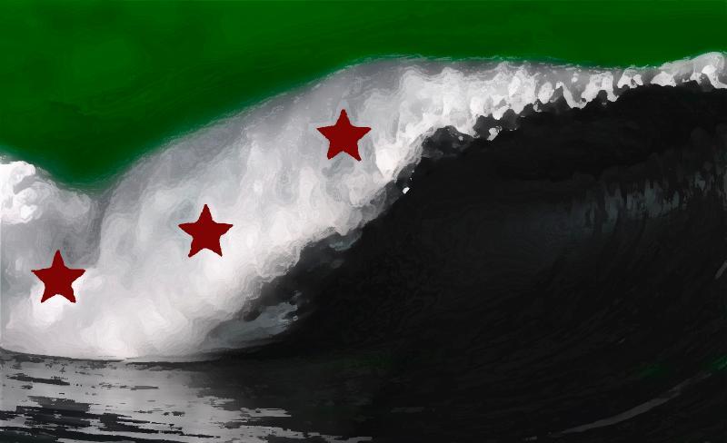بالصور صور علم الثورة السورية , بوستات لرمز الانتفاضة 4077 2