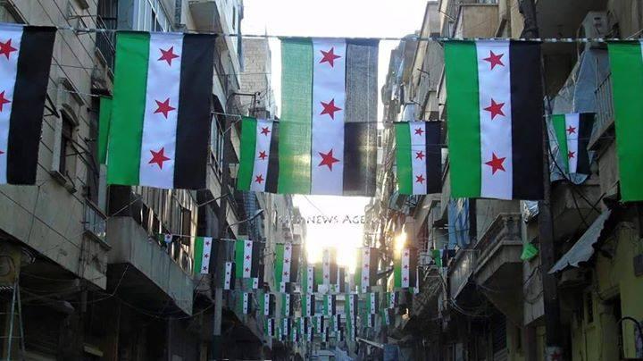 بالصور صور علم الثورة السورية , بوستات لرمز الانتفاضة 4077 3