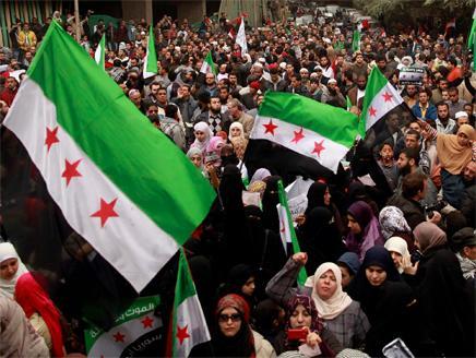 بالصور صور علم الثورة السورية , بوستات لرمز الانتفاضة 4077 6
