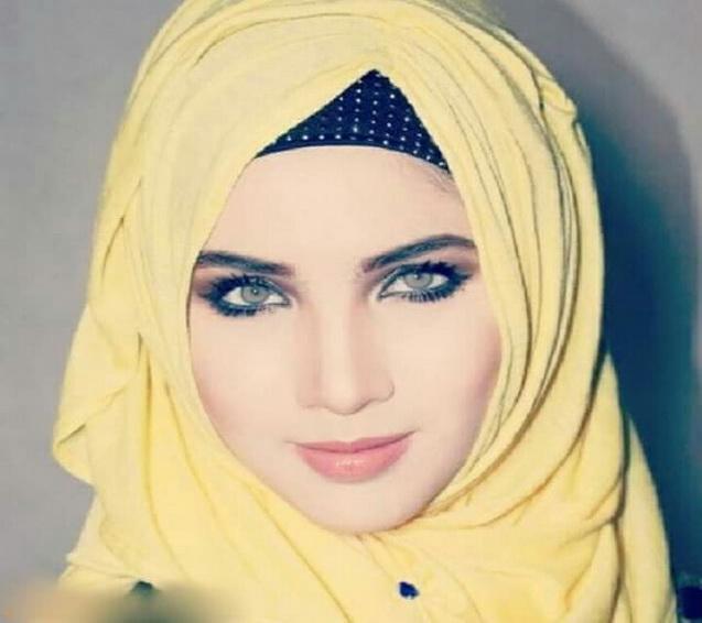 بالصور صور بنات محجبات قمر , بوستات فتيات محتشمات زي العسل 4542 3