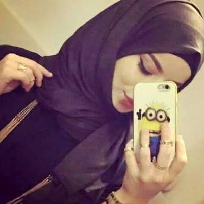 بالصور صور بنات محجبات قمر , بوستات فتيات محتشمات زي العسل 4542 4