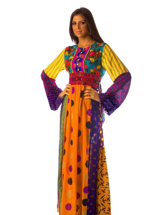 بالصور ملابس جزائرية عصرية , جلباب وفطان وفستان من الجزائر 890 3