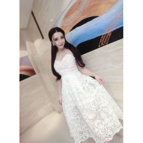 بالصور صور فساتين ابيض , فستان باللون الابيض الروعه 893 2