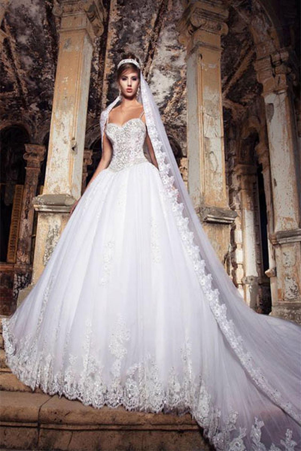 بالصور اجمل فساتين العرس , اروع فستان فرح 922 7