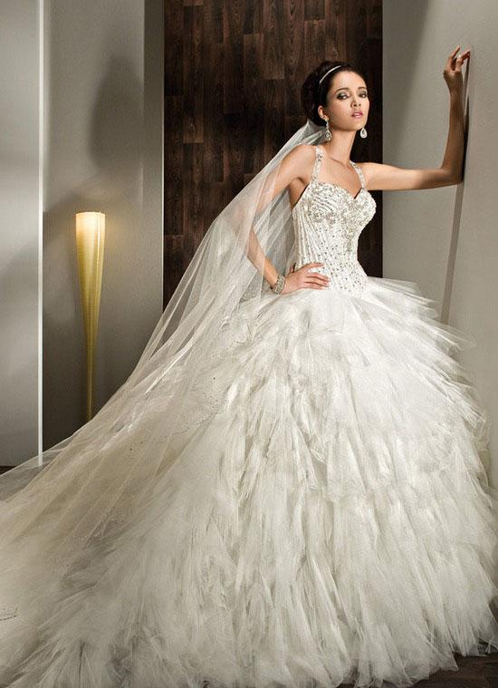 بالصور اجمل فساتين العرس , اروع فستان فرح 922 9