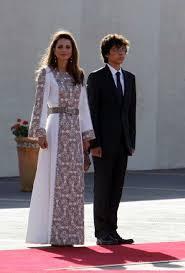 فساتين الملكة رانيا , فستان جميل ملكي