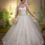 فساتين زفاف منفوشة , فستان جميل و منفوش