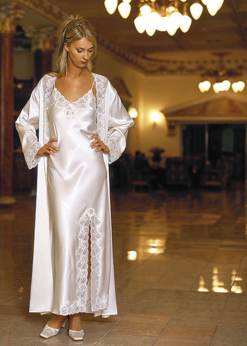 صورة قمصان نوم للعرايس , تصاميم فساتين نوم