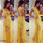 فساتين صفراء , ملابس سواريه باللون الاصفر
