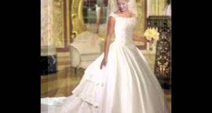 صوره فساتين اعراس للبنات , فستان زفاف تحفه