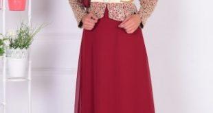 فساتين دانتيل احمر , اجمل فستان باللون الاحمر