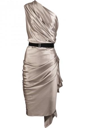 فساتين سهرة قصيرة ناعمة , تفصيلات لفستان خطير