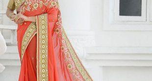 صوره صور فساتين هنديه , اجمل سارى هندى