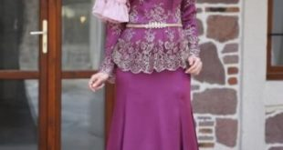 صور صور فساتين محجبات سواريه , اجمل الفساتين الناعمه