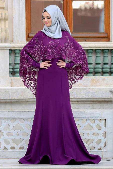 بالصور صور فساتين محجبات سواريه , اجمل الفساتين الناعمه 1032 2