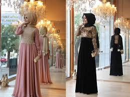 بالصور صور فساتين محجبات سواريه , اجمل الفساتين الناعمه 1032 4