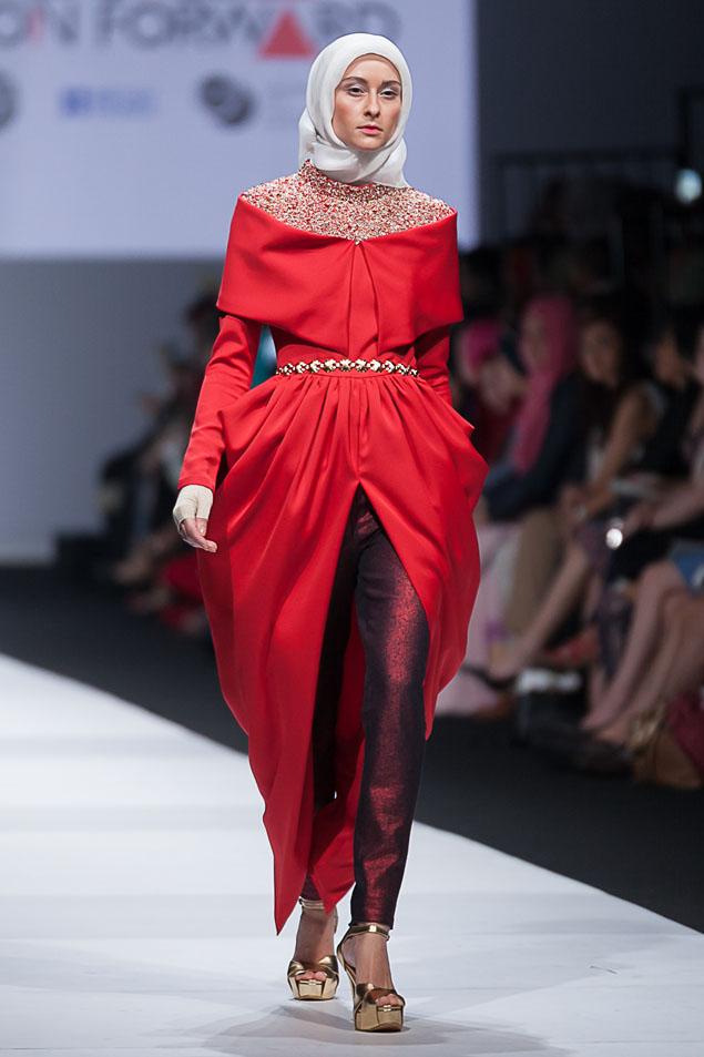 بالصور صور فساتين محجبات سواريه , اجمل الفساتين الناعمه 1032 6
