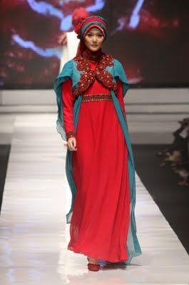 بالصور صور فساتين محجبات سواريه , اجمل الفساتين الناعمه 1032 7