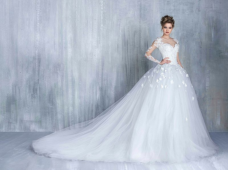 صورة صور فساتين زواج , اجمل فستان فرح لاجمل عروسة