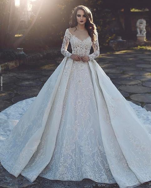 بالصور صور فساتين زواج , اجمل فستان فرح لاجمل عروسة 1070 2