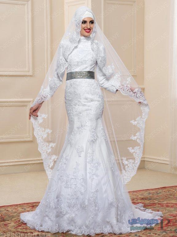 بالصور صور فساتين زواج , اجمل فستان فرح لاجمل عروسة 1070 7