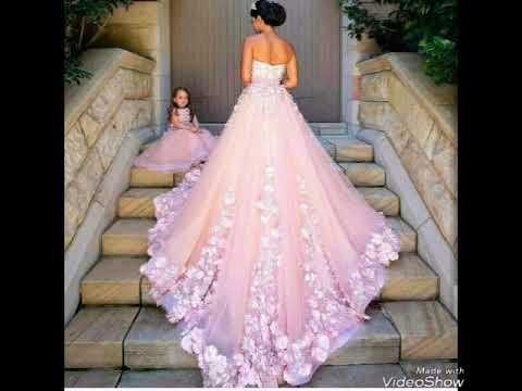بالصور صور فساتين جديدة , تشكيلة من اروع الفساتين العيد للبنات 1071 4