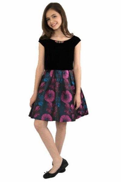 بالصور صور فساتين جديدة , تشكيلة من اروع الفساتين العيد للبنات 1071 7