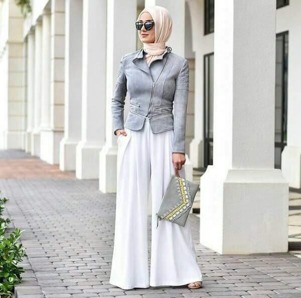 صورة ملابس صيفية للمحجبات , اجمل فساتين وبدل الصيف للبنات