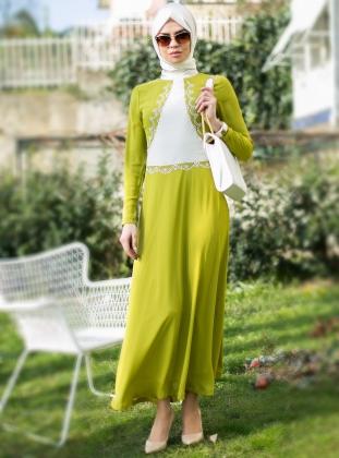 بالصور ملابس صيفية للمحجبات , اجمل فساتين وبدل الصيف للبنات 1093 8