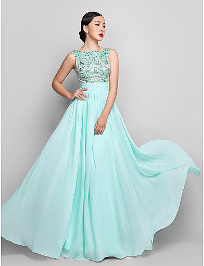 بالصور صور فساتين شيفون , اروع فستان مصنوع من الشيفون 1208 2