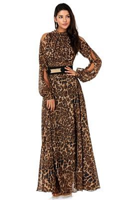 بالصور صور فساتين شيفون , اروع فستان مصنوع من الشيفون 1208 7