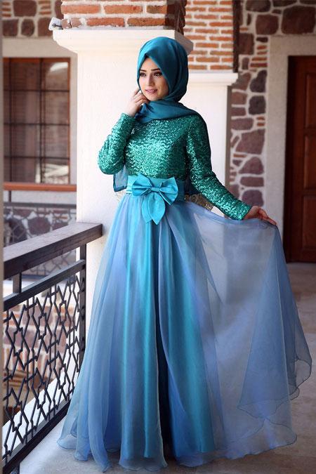 بالصور صور فساتين شيفون , اروع فستان مصنوع من الشيفون 1208 9