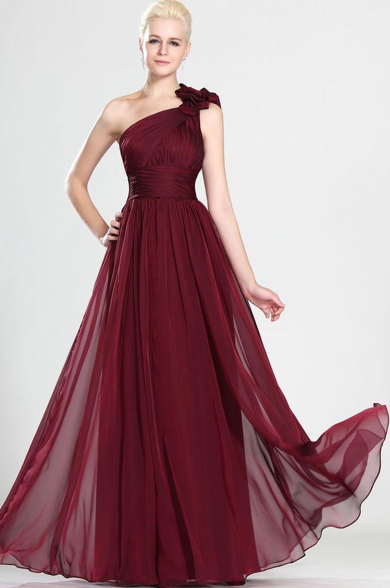 صوره صور فساتين شيفون , اروع فستان مصنوع من الشيفون