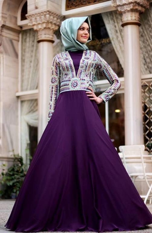 بالصور اجمل فساتين سهرات , فستان للحفلة والسهرة يجنن 1213 9