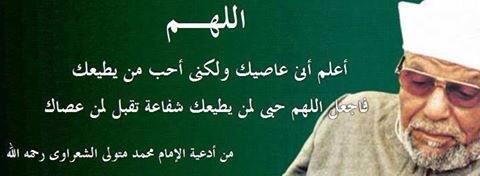 بالصور اقوال الشيخ محمد متولى الشعراوى , كلمات من الداعية الاسلامي 3546 6