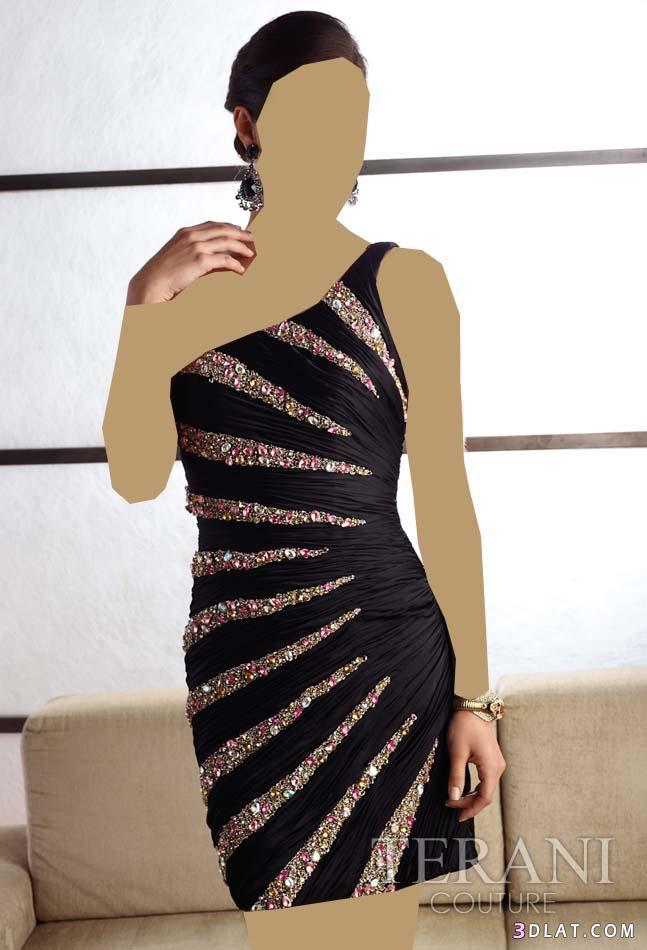 بالصور فساتين قصيرة للسهرات , اجمل تشكيلة موديلات فستان قصير للبنات 861 2