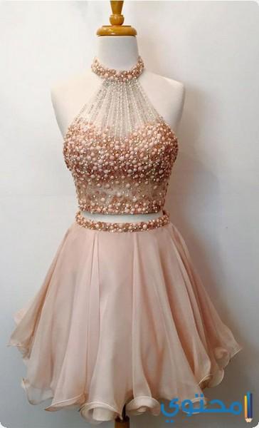 بالصور فساتين قصيرة للسهرات , اجمل تشكيلة موديلات فستان قصير للبنات 861 9