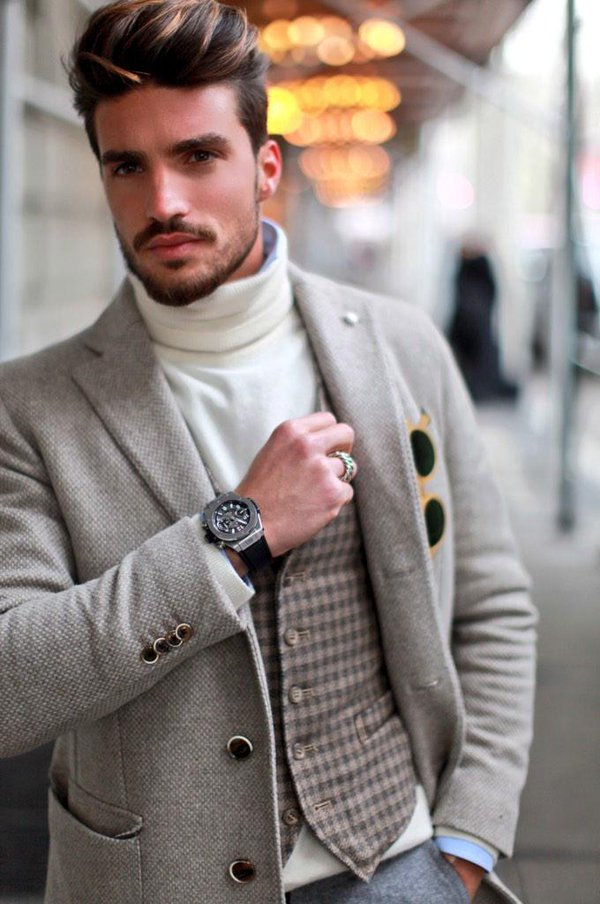 صوره اجمل ملابس رجال , موديلات لكل رجل في اى وقت