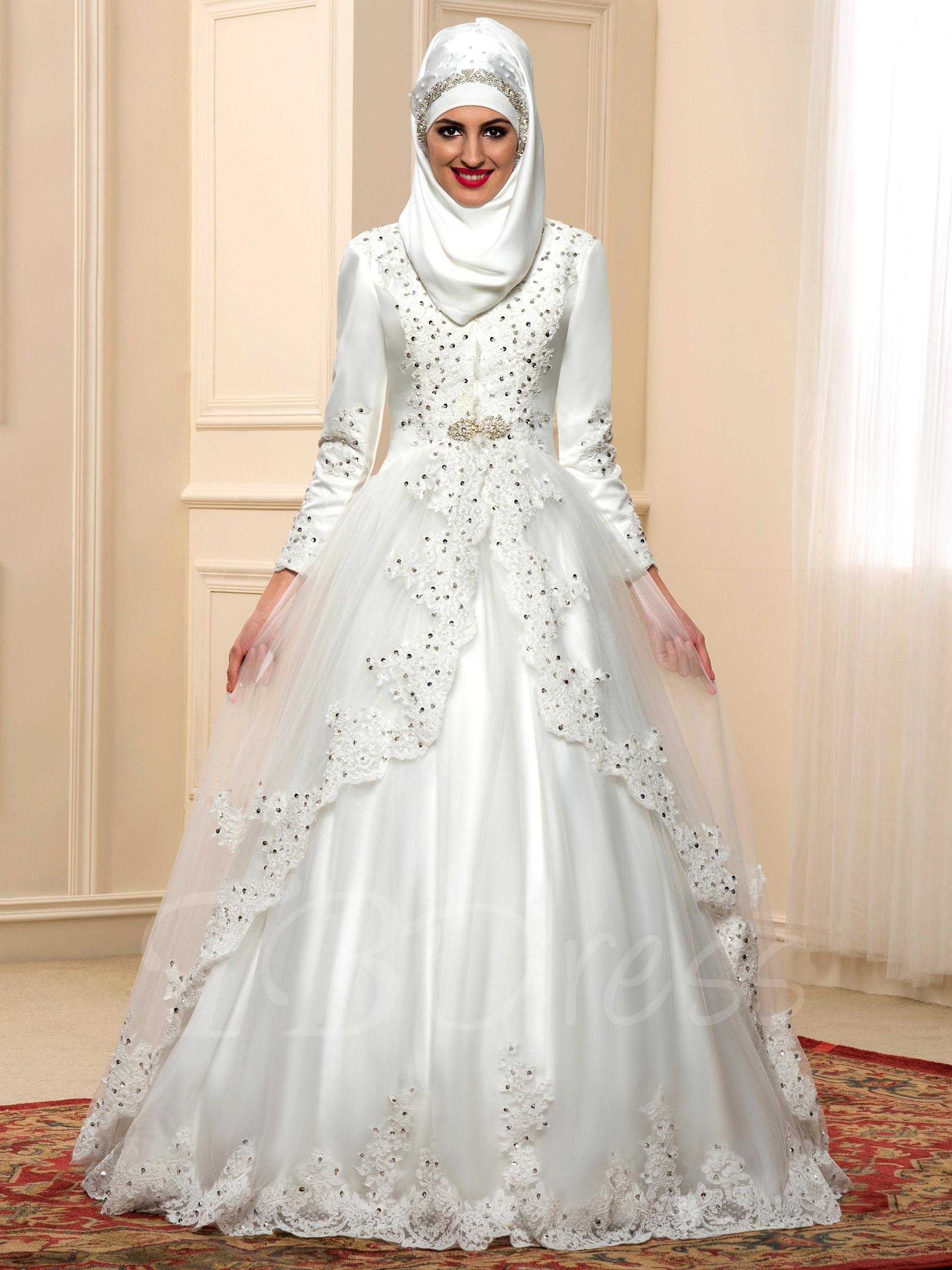بالصور فساتين اعراس جديدة , فستان فرح لاجمل عروسة 909 1