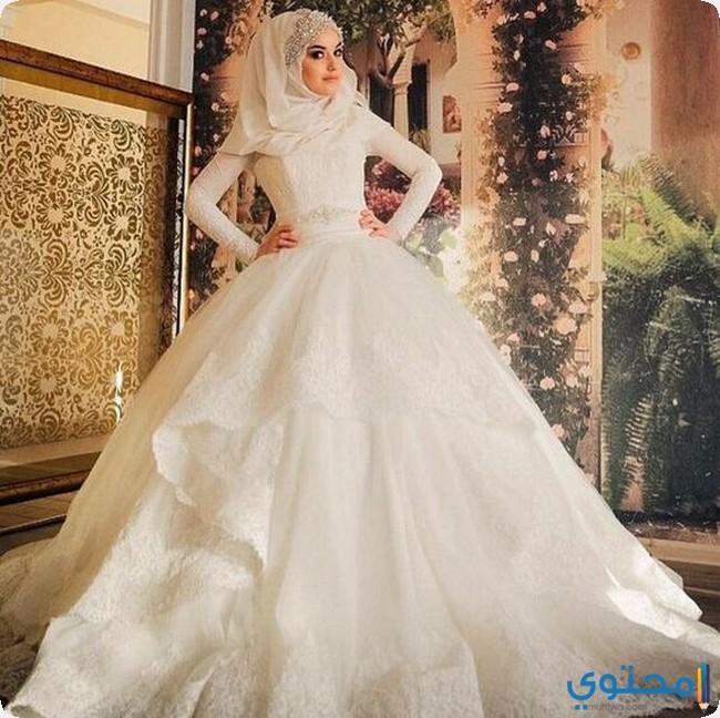 بالصور فساتين اعراس جديدة , فستان فرح لاجمل عروسة 909 4
